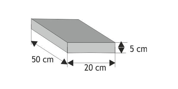 Daszek podmurówkowy płaski (równy z elementem)