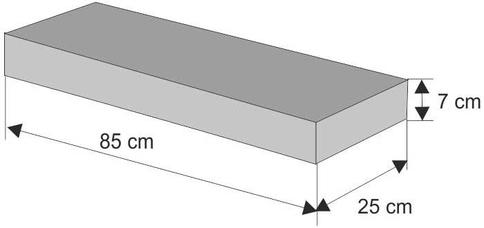 Daszek płaski (równy)