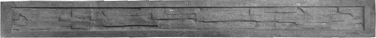 Płyta prefabrykowana do ogrodzeń panelowych