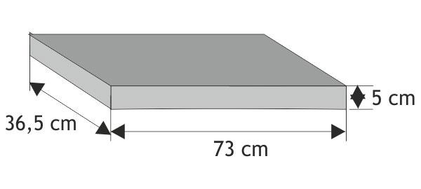 Daszek słupkowy płaski (równy z elementem)